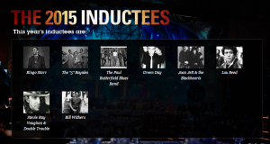 2015 Rock Hall Inductees